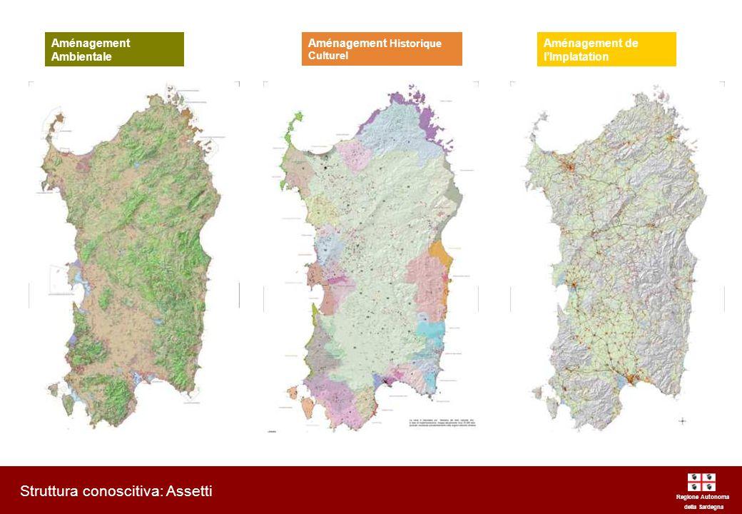 Regione Autonoma della Sardegna Piano Paesaggistico Regionale AMENAGEMENT DU TERRITOIRE Plan Urbanistique Provinciale Plan Urbanistique Communal Plan Régional du Paysage