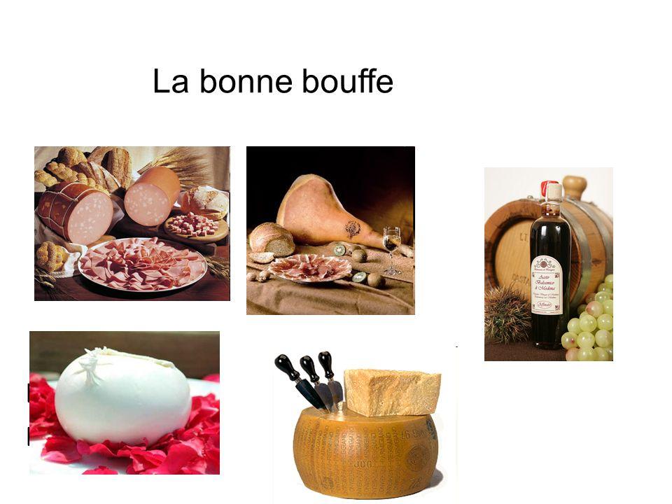 La mozzarella Di bufala La bonne bouffe