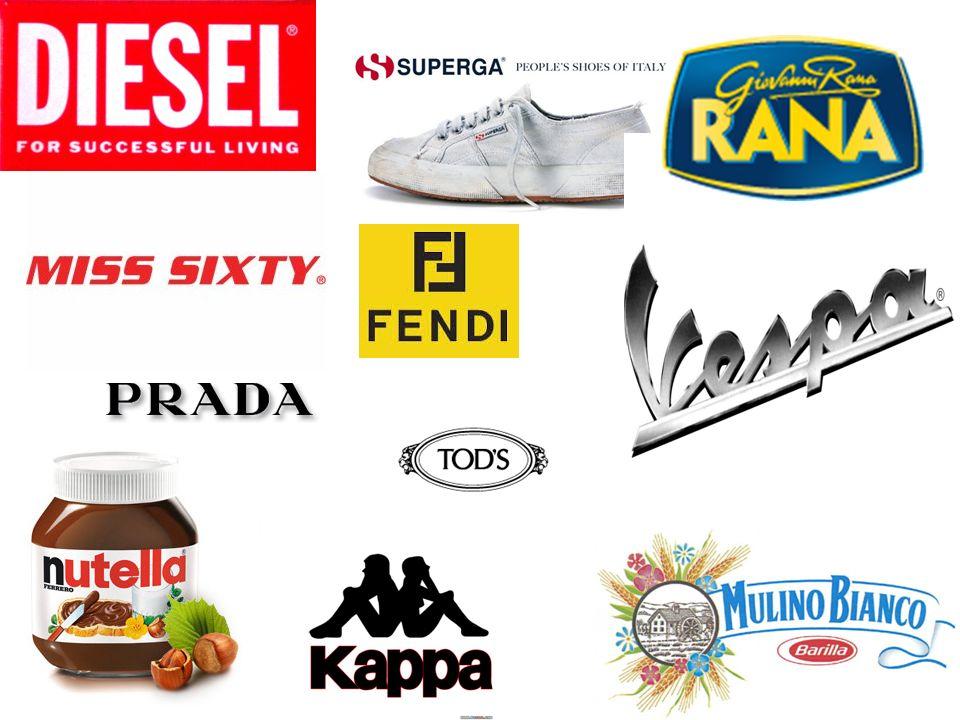 Les secteurs du Made in Italy Les secteurs les plus représentatifs sont : - le secteur du tissu : (2° fournisseur mondiale) - le vêtement (3° fournisseur mondiale) et la mode (20% du marché mondiale) - le cuir (1° producteur mondiale darticles de cuir de haute qualité) - les chaussures (1° producteur européen et 5° producteur mondiale) - lindustrie alimentaire - lindustrie automobile (4° producteur européen et 8° producteur mondiale) - lindustrie motocycliste (1° producteur européen di scooter)