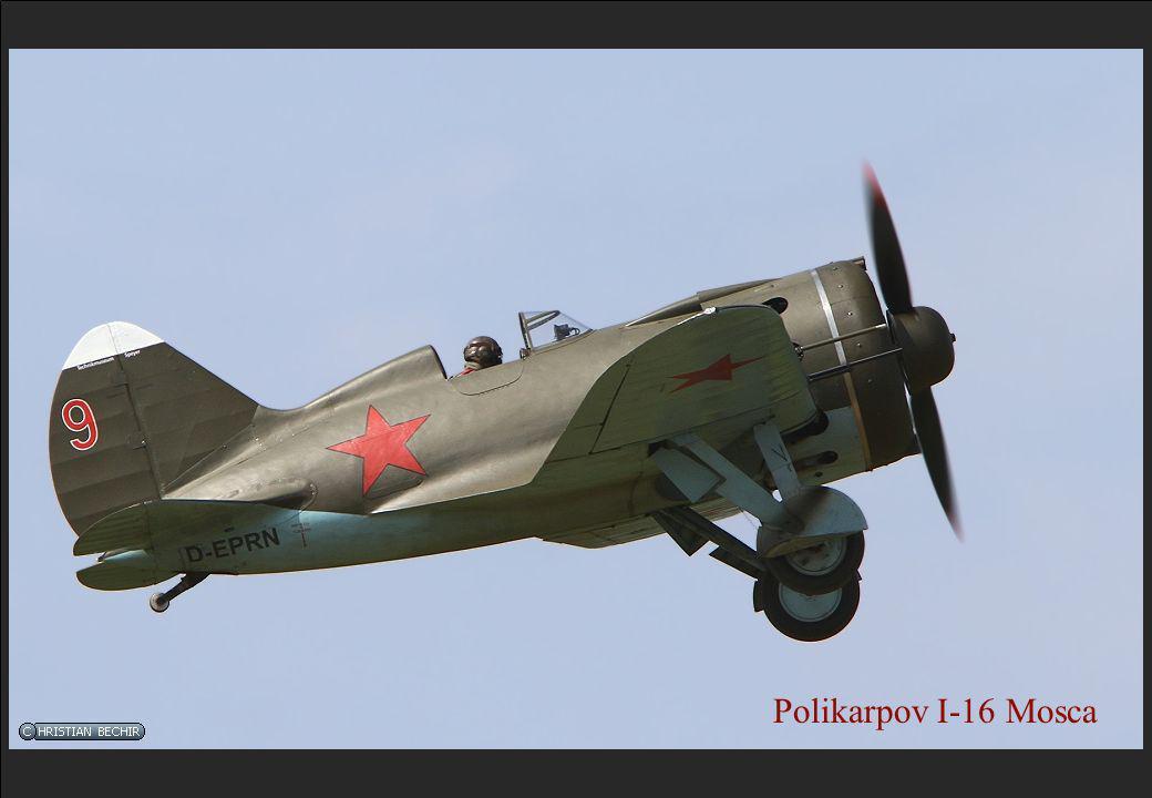 Polikarpov I-16 Mosca
