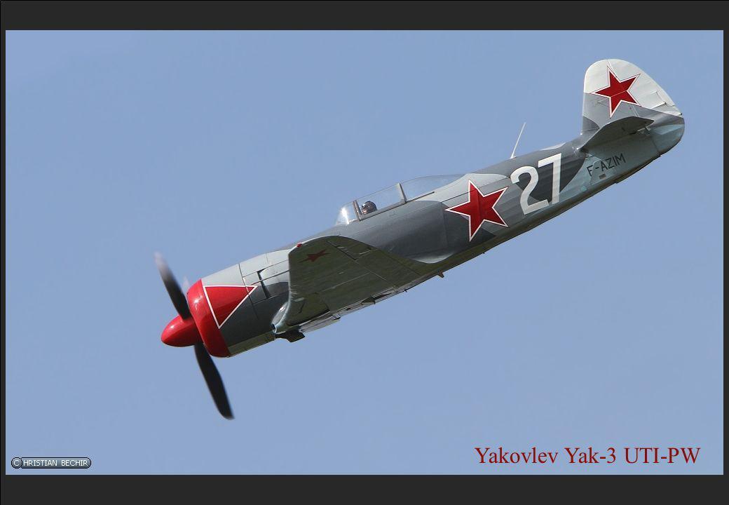Yakovlev Yak-3 UTI-PW