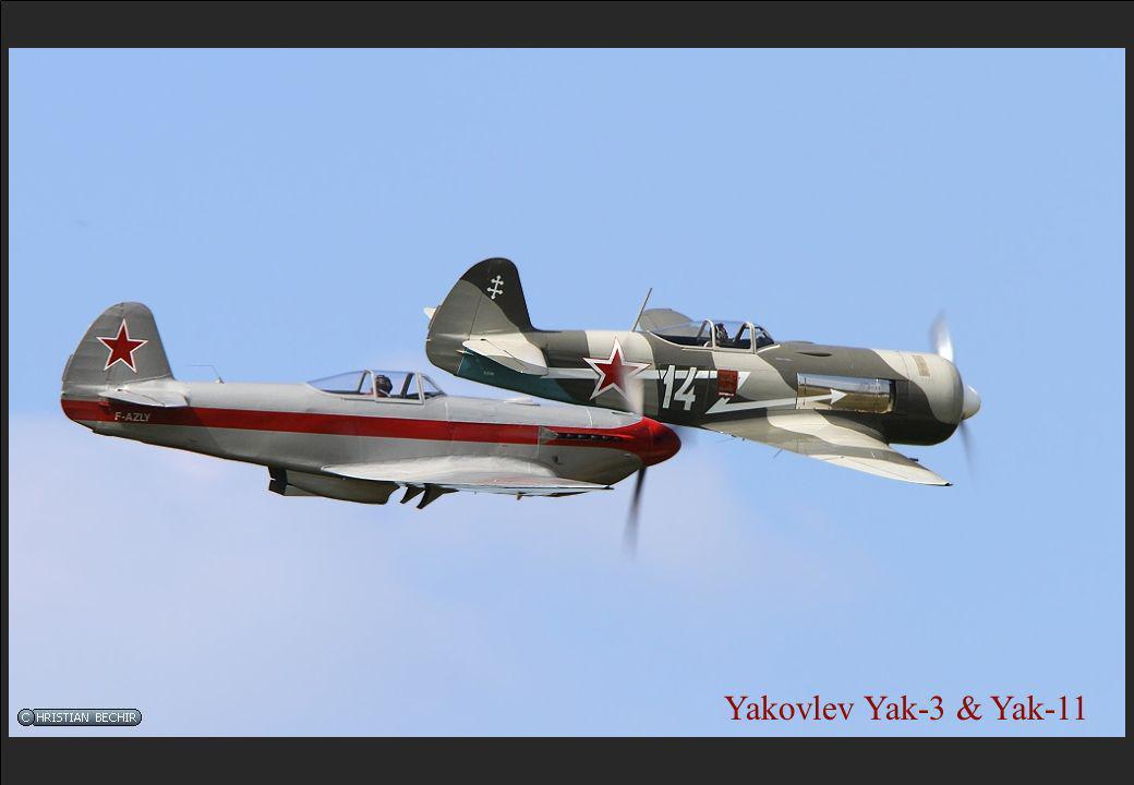 Yakovlev Yak-3 & Yak-11