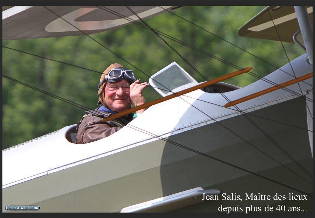 Jean Salis, Maître des lieux depuis plus de 40 ans...