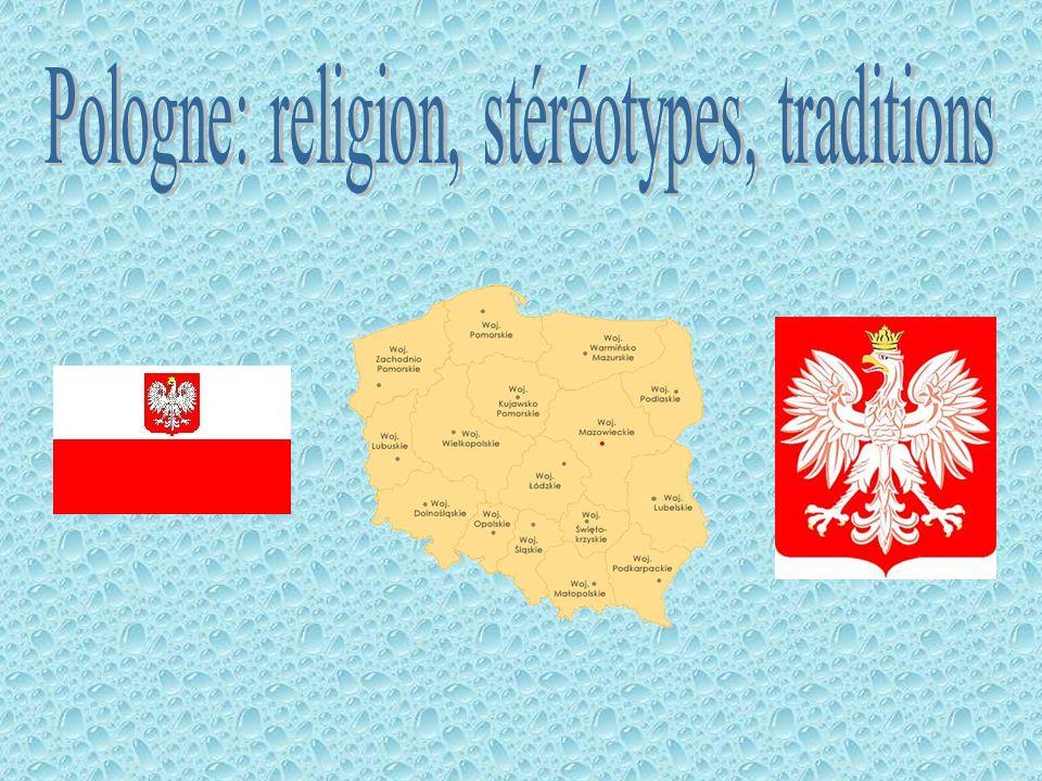 La Pologne est un pays chrétien.La majorité des Polonais va à léglise.