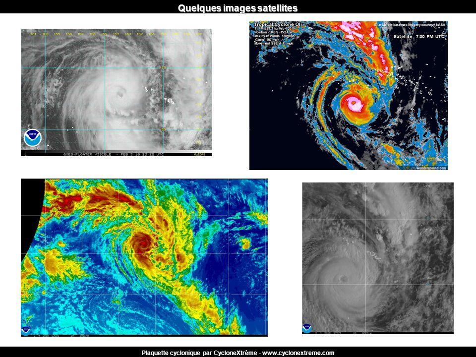 Quelques images satellites Plaquette cyclonique par CycloneXtrème - www.cyclonextreme.com