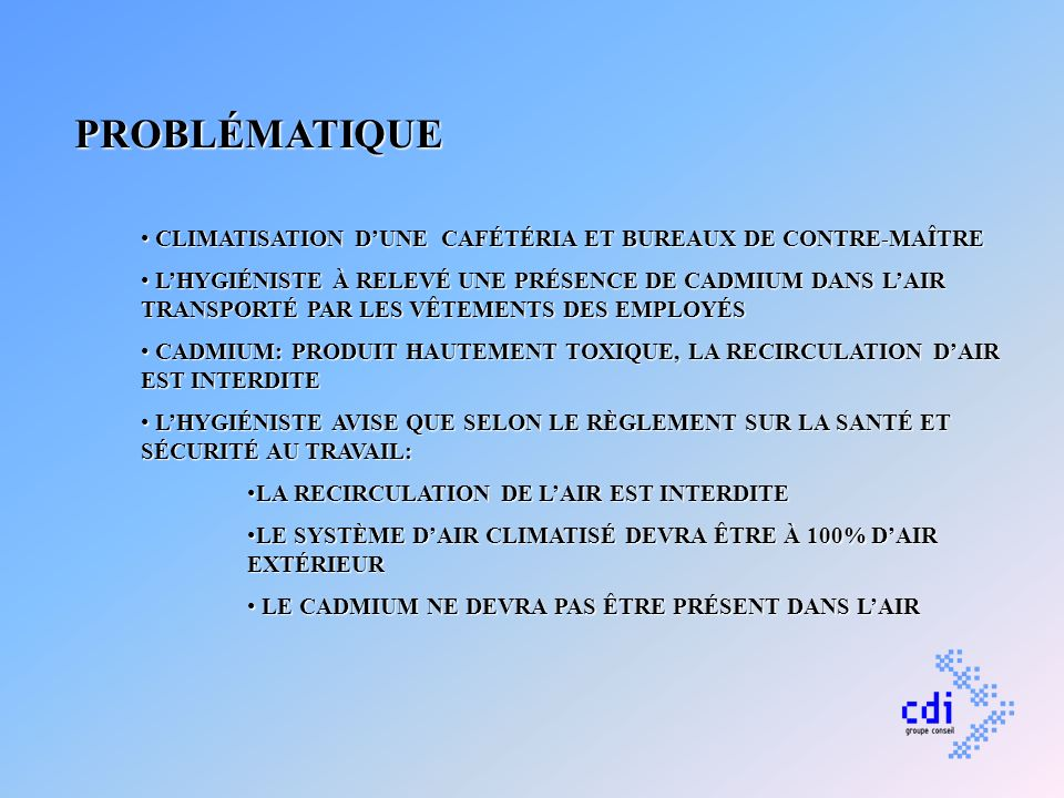 SOLUTIONS 1.MAUVAISE INTERPRÉTATION DE LHYGIÉNISTE.