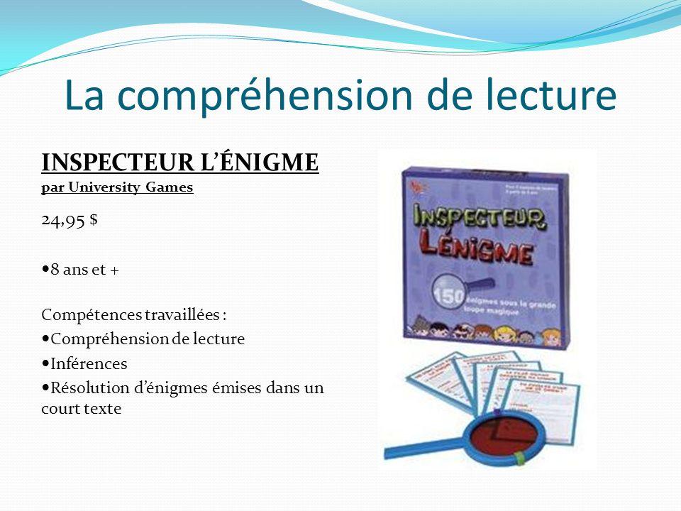 La compréhension de lecture DIXIT par Libellud 39,95 $ 8 ans et + Compétences travaillées : Inférences et déductions Élaboration didées