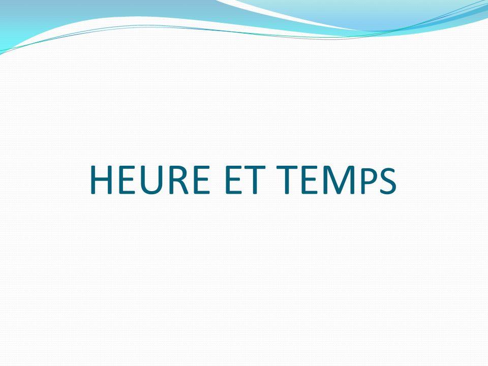 Heure et temps HEURE ET TEMPS par Ravensburger 32,99 $ Compétences travaillées : Lheure Orientation dans le temps : jour-mois-saisons
