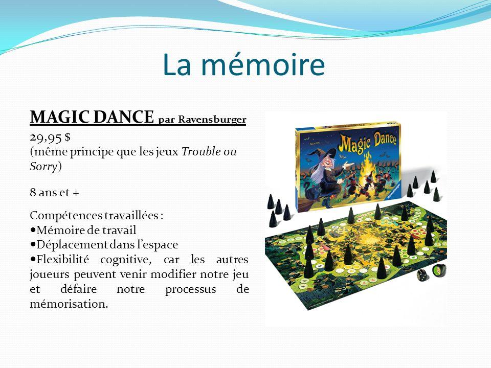 La mémoire LOS MAMPFOS par Gigamic 49,95 $ 5 ans et plus 2 à 4 joueurs Compétences travaillées : Mémoire visuelle