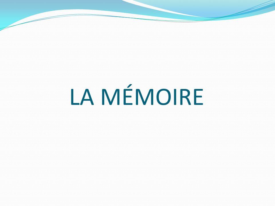 La mémoire Oh non, pas le hoquet .