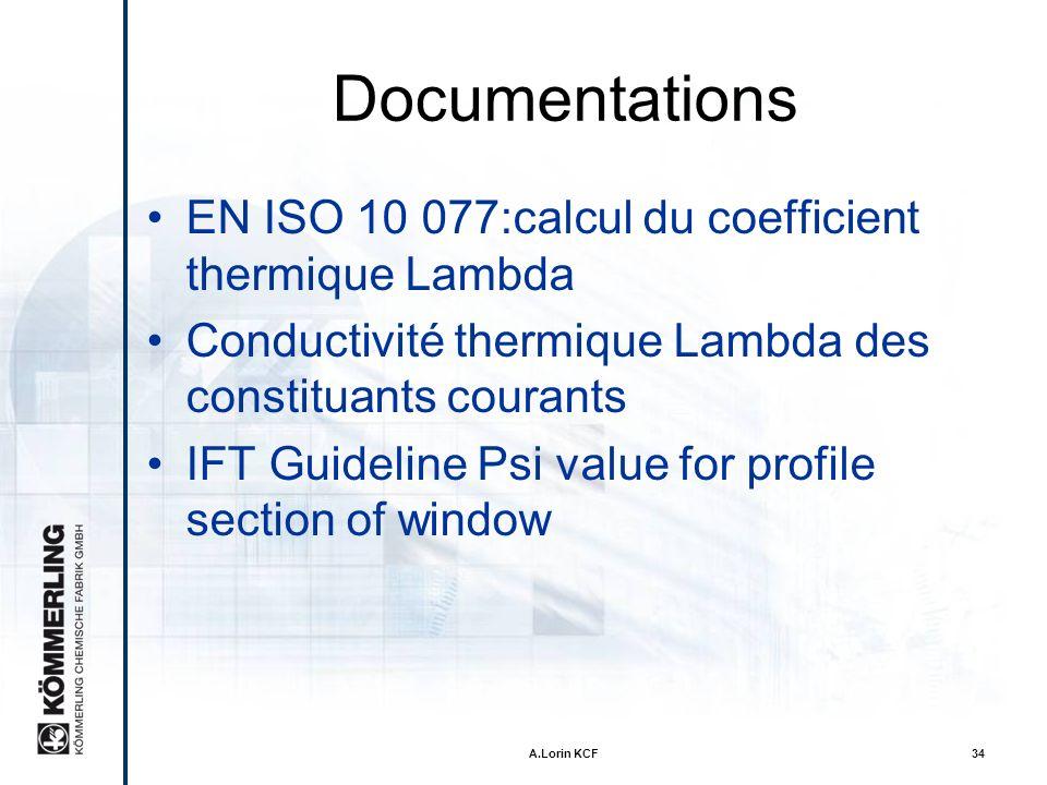 A.Lorin KCF33 Environnement Emissions de CO 2 réduites grâce aux économies dénergie Recyclage du verre et du TPS