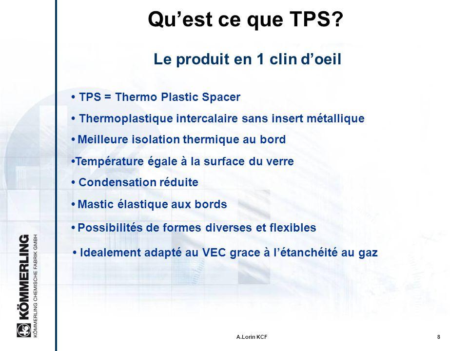 A.Lorin KCF18 Test de Pression avec TPS-VI 350 x 500 mm 1/3in TPS Butyl 1 / 2 in SZR 1/6 in Naftotherm M 82 24 h release 441 lb 24 h load of 4.8 % pressage100 % recouvrementVI fermé 7.1 % pressage 100 % recouvrement Tube capillaire au travers de létanchéitég