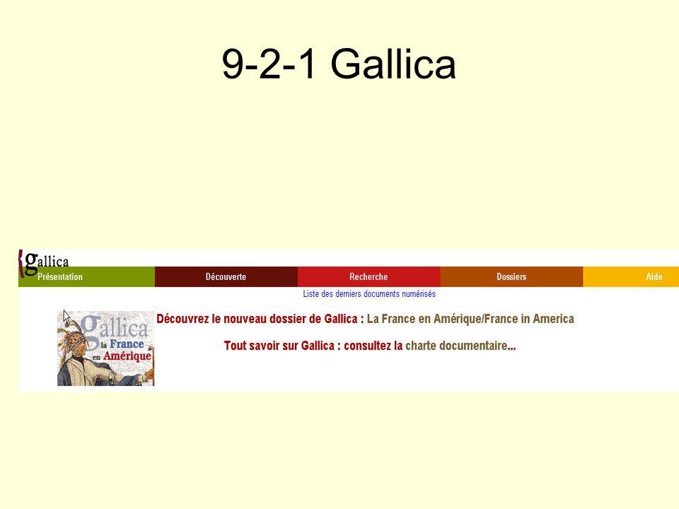 9-2-1 Gallica