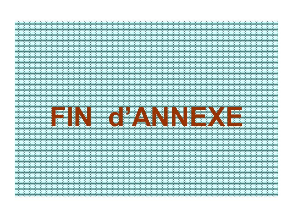 FIN dANNEXE