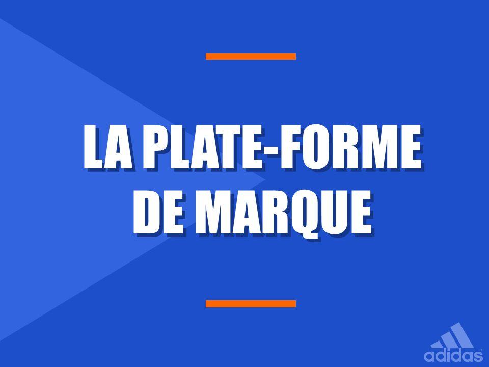 LA PLATE-FORME DE MARQUE