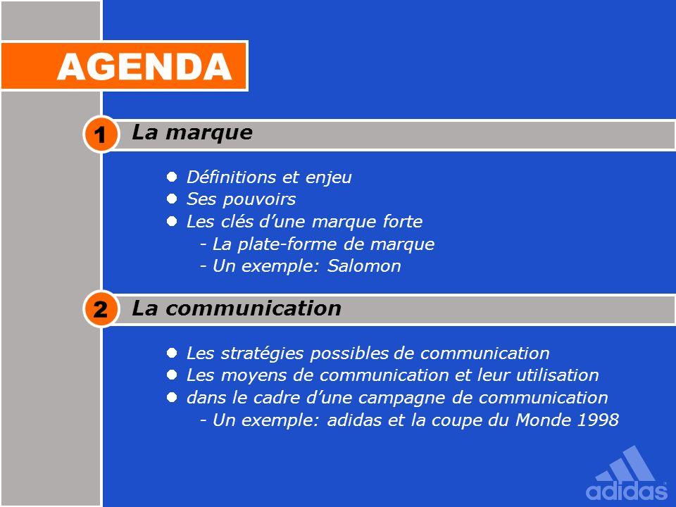 21 La communication Les stratégies possibles de communication Les moyens de communication et leur utilisation dans le cadre dune campagne de communica