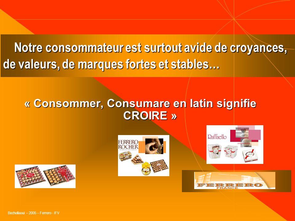 Bechellaoui – 2005 – Ferrero - IFV Entre Entre 1975 et 2001 : nombre dactions promotionnelles en GDA est passé de 1 033 à 13 118, rapport de 1 à 13. L