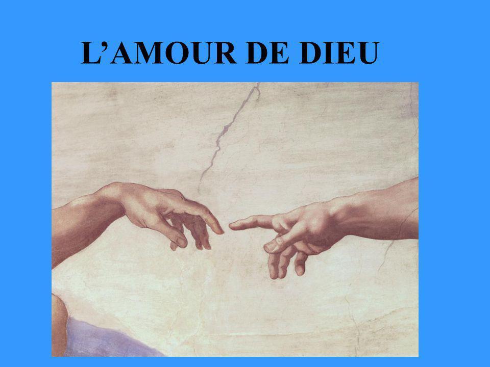 LAMOUR DE DIEU