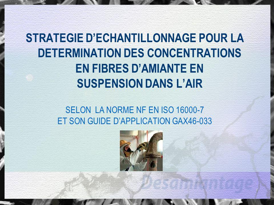 12 Stratégie échantillonnage Insuffisance de pratiques actuelles Durée de prélèvement inadaptée -Durée de prélèvement MOCP en zone trop longue alors quempoussièrement important.