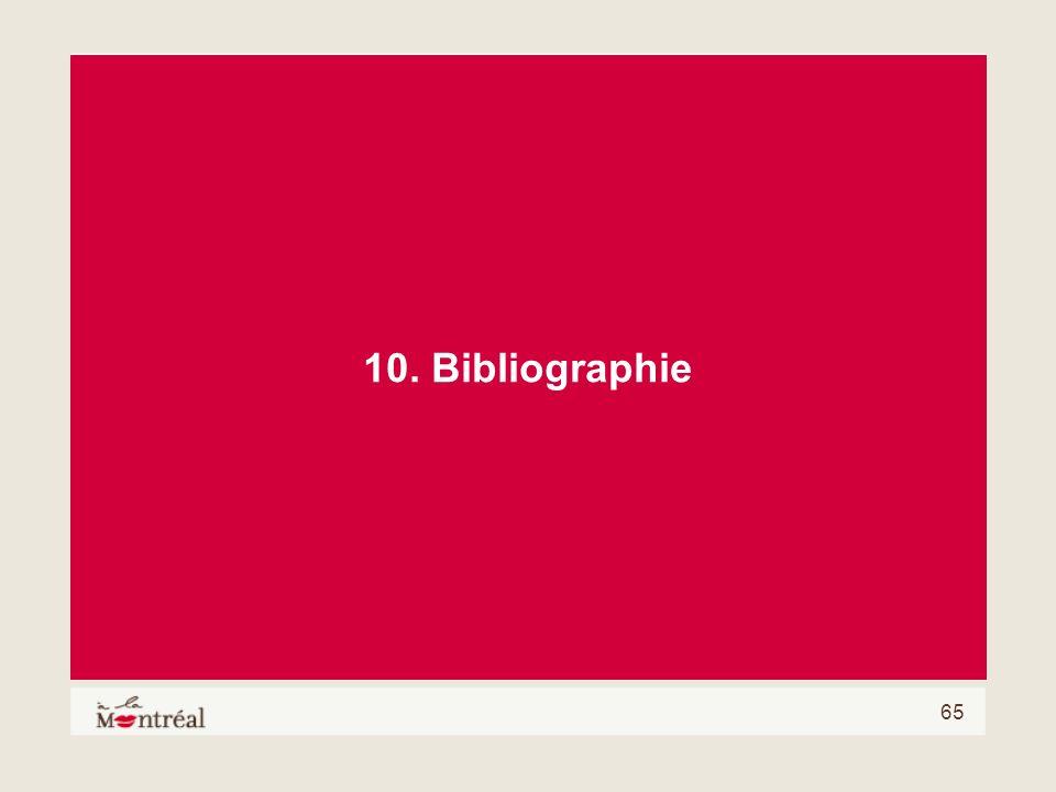 65 10. Bibliographie