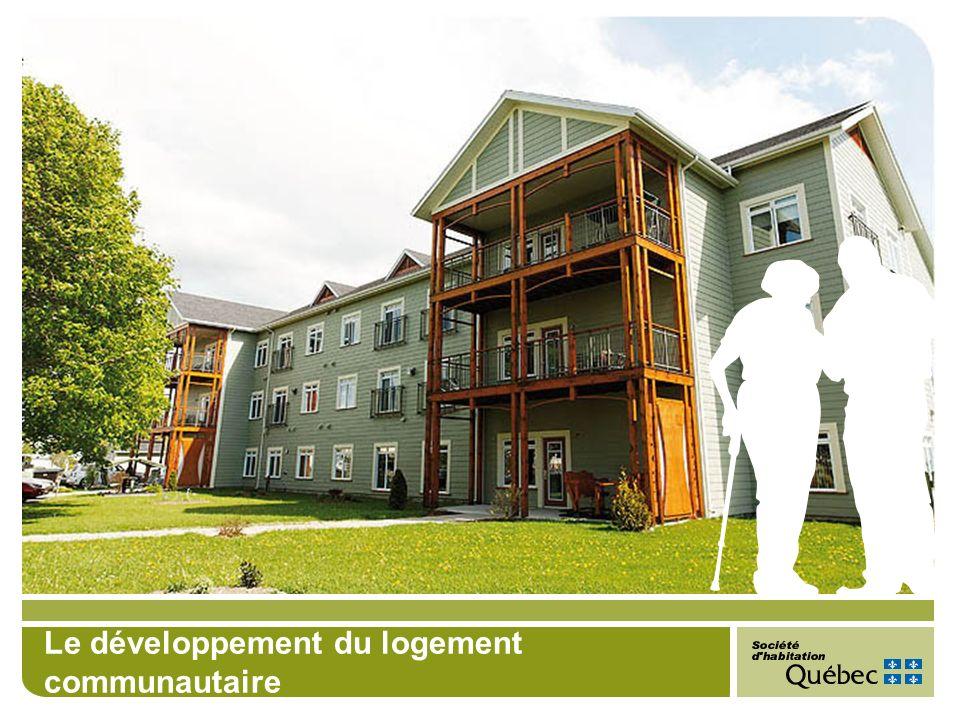 Le développement du logement communautaire
