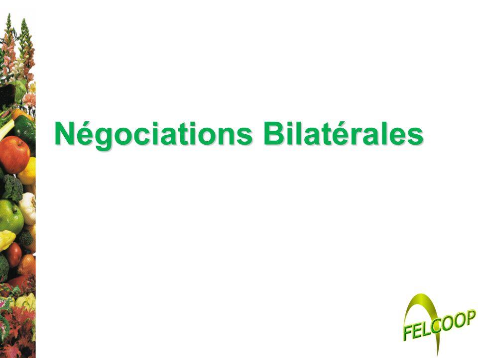 Négociations Bilatérales