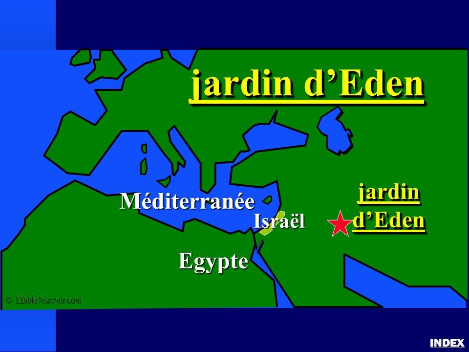 jardin dEden INDEX © EBibleTeacher.com Méditerranée Egypte jardindEdenjardindEden jardin dEden Israël