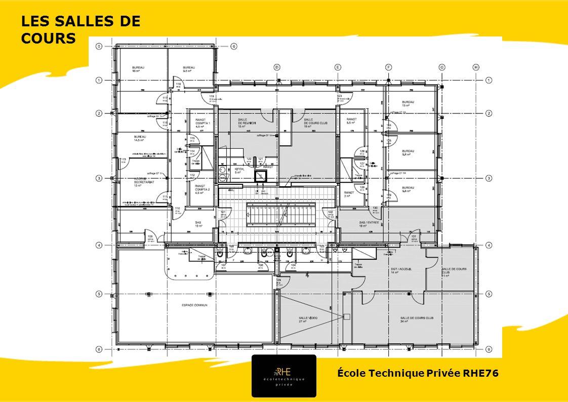 École Technique Privée RHE76 LES SALLES DE COURS