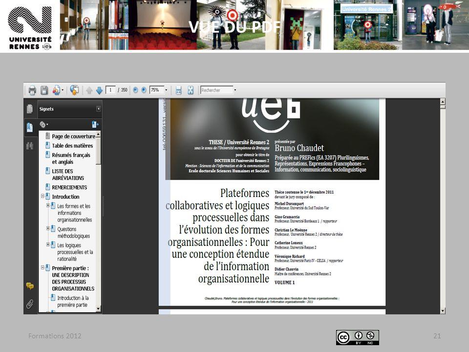 Formations 201221 VUE DU PDF