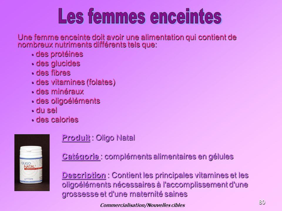 80 Une femme enceinte doit avoir une alimentation qui contient de nombreux nutriments différents tels que: des protéines des protéines des glucides de