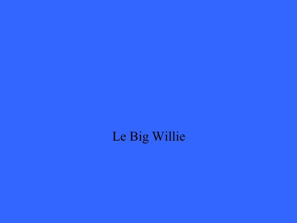 Le Big Willie