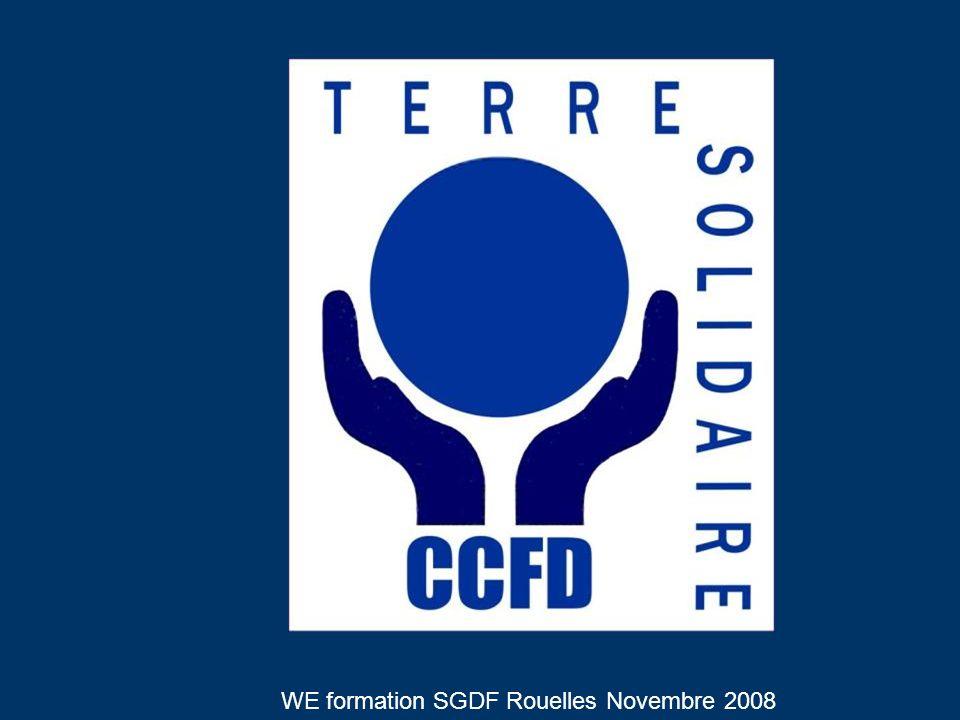 1961 Date de création du CCFD, à lépoque CCCF, créé pour … un an, suite à lappel de la FAO relayé par Jean XXIII dans un contexte de grandes famines en Afrique de lOuest, en pleine période de décolonisation.