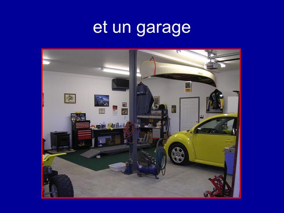 et un garage