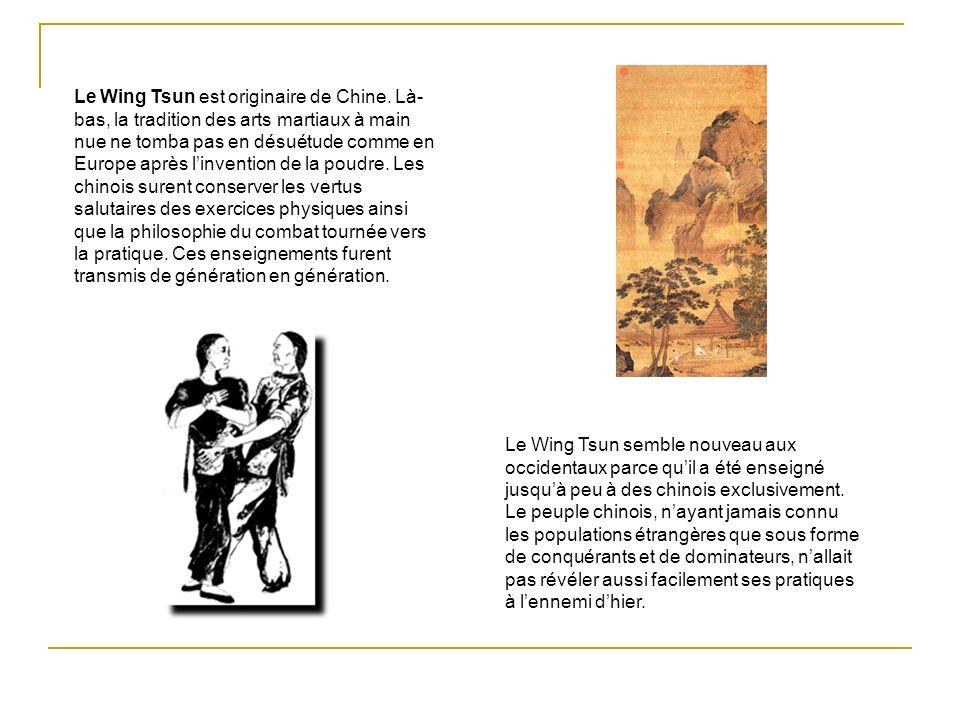 Grand Maître Leung Ting fut le premier chinois à enseigner le Wing Tsun en dehors de la Chine.