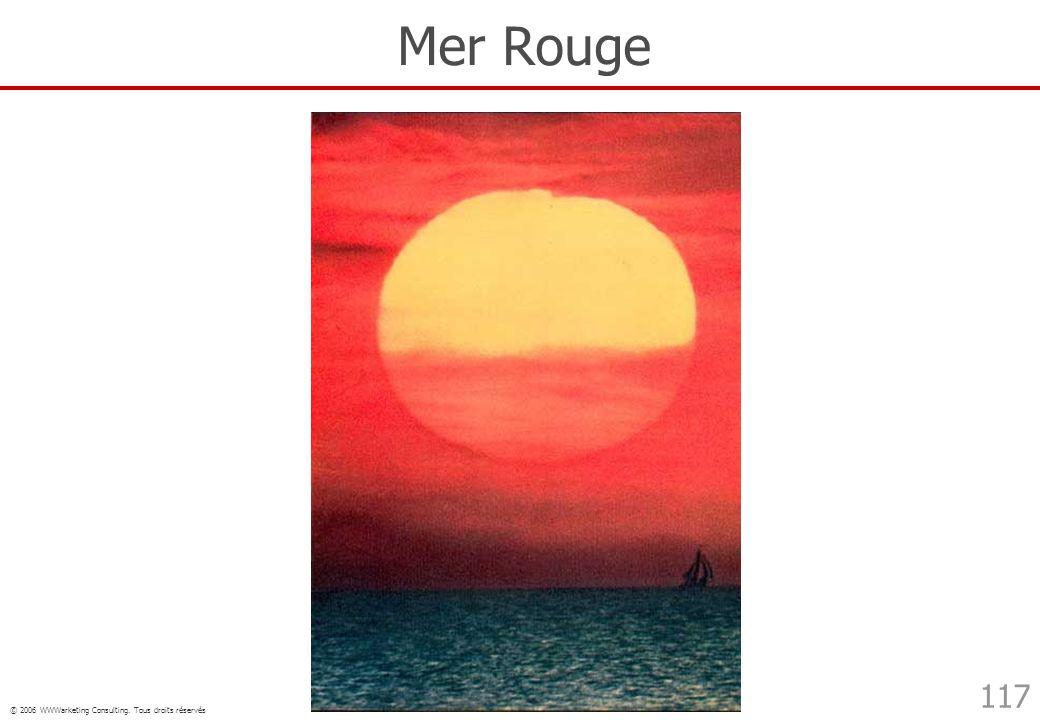 © 2006 WWWarketing Consulting. Tous droits réservés 117 Mer Rouge