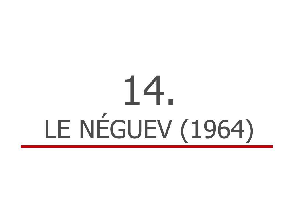 14. LE NÉGUEV (1964)