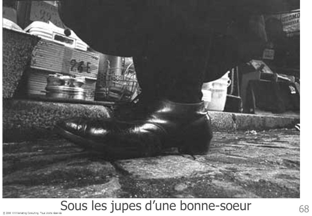 © 2006 WWWarketing Consulting. Tous droits réservés 68 Sous les jupes dune bonne-soeur