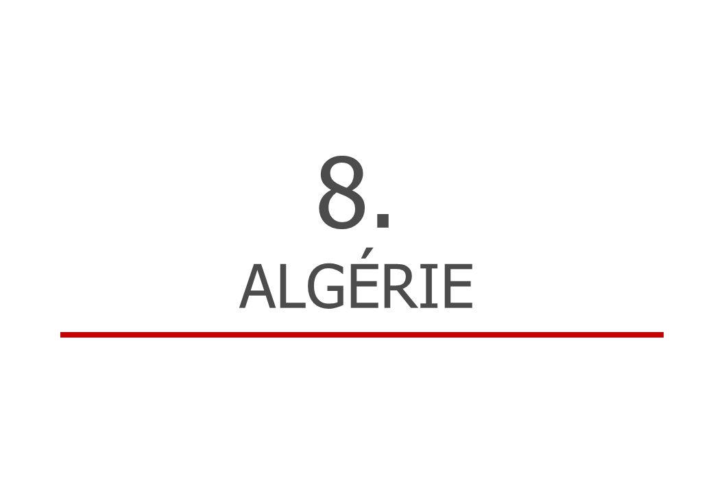 8. ALGÉRIE