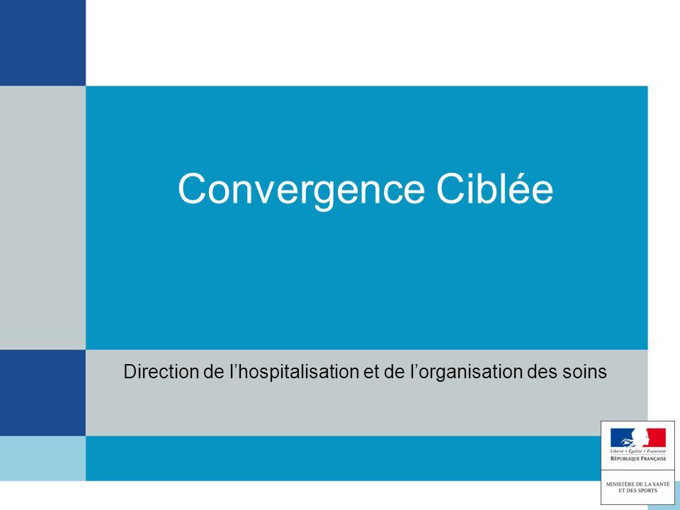 Convergence Ciblée Direction de lhospitalisation et de lorganisation des soins