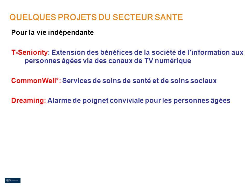 Pour la vie indépendante T-Seniority: Extension des bénéfices de la société de linformation aux personnes âgées via des canaux de TV numérique CommonW
