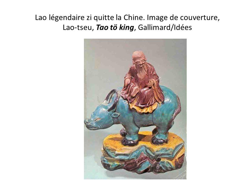 Lao Zi – vie légendaire 6e-5e siècles selon Mémoires historiques -Shi Ji de Si Ma Qian (-160-90 av.