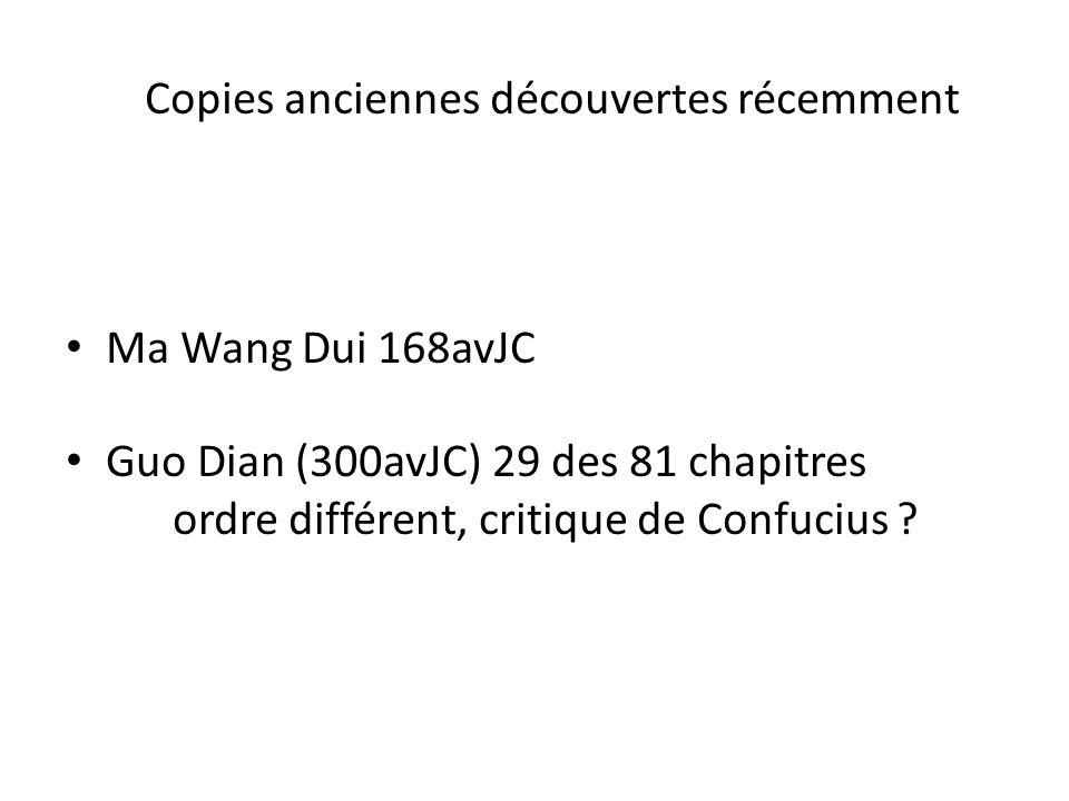 Notions du Dao De Jing 1.