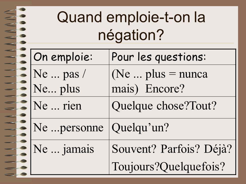 Jorenne.Je tinvite à découvrir la négation en Français...