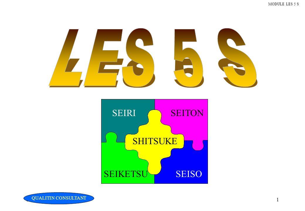 Christian Fouché Consultant1 MODULE LES 5 S SEIRISEITON SHITSUKE SEIKETSUSEISO QUALITIN CONSULTANT