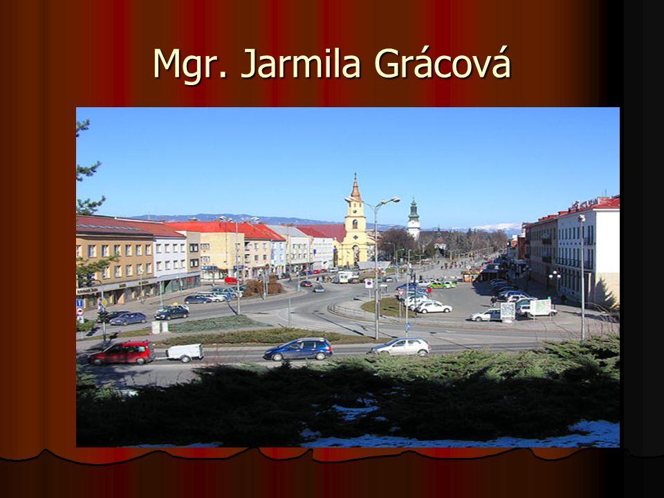 Mgr. Jarmila Grácová