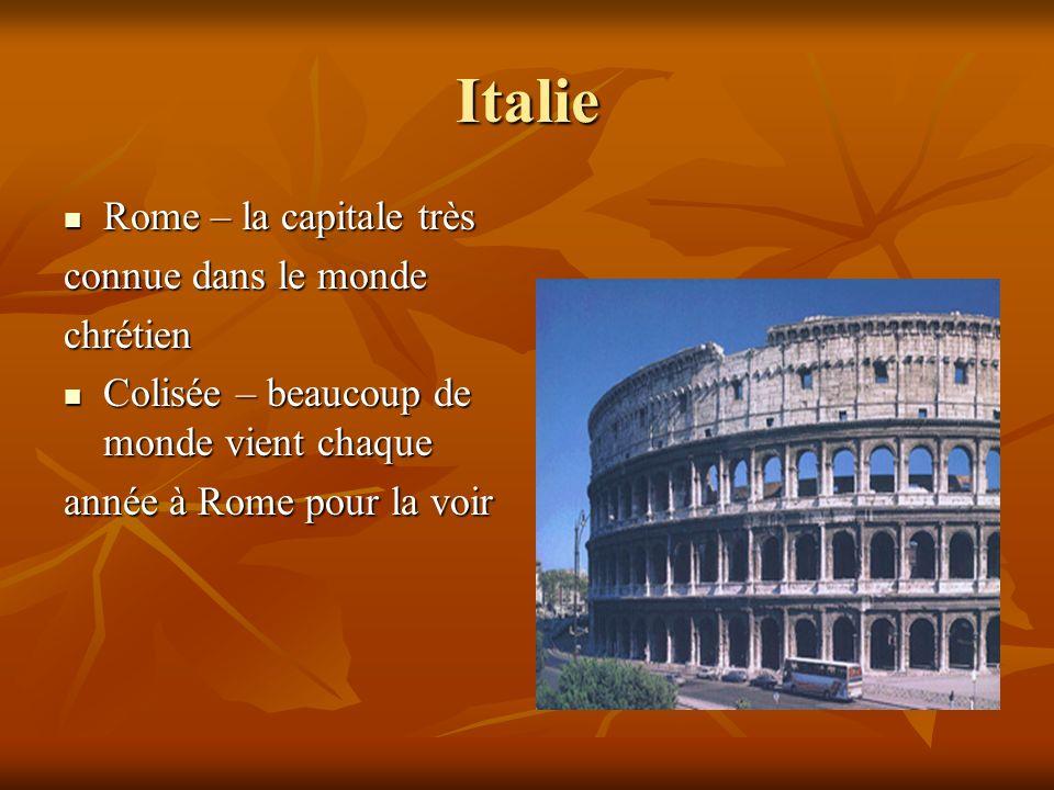 Italie Rome – la capitale très connue dans le monde chrétien Colisée – beaucoup de monde vient chaque année à Rome pour la voir