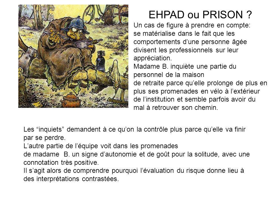 EHPAD ou PRISON .