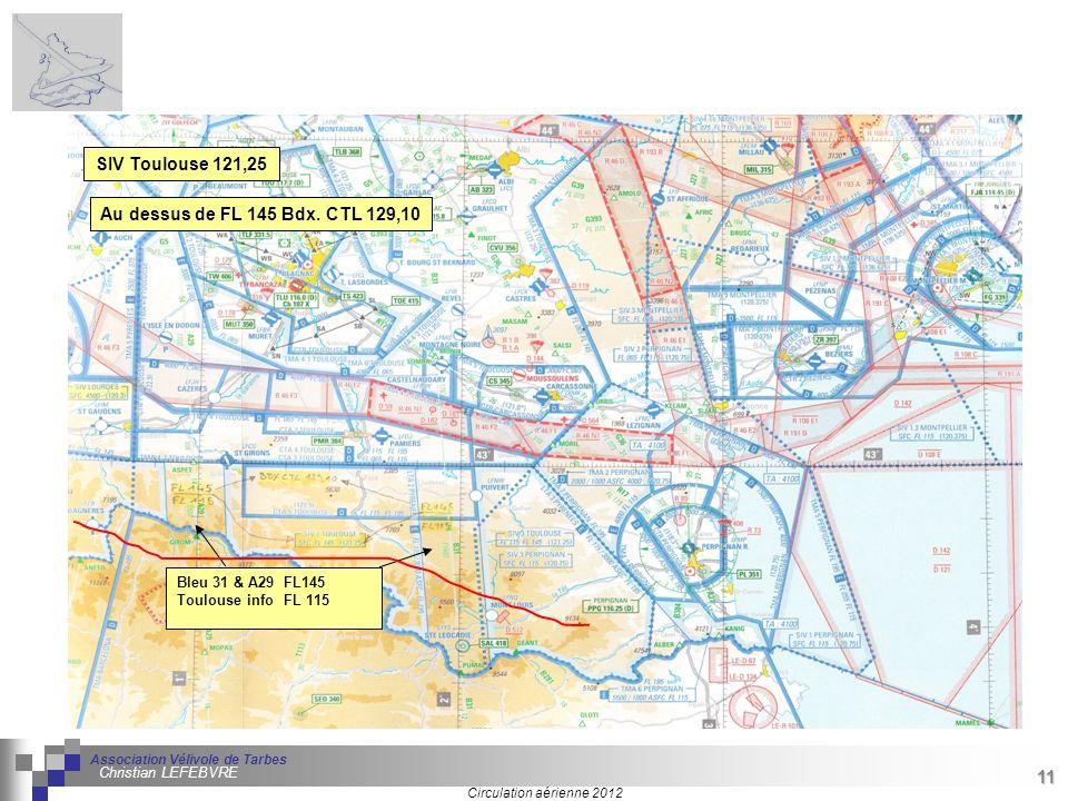 11 Séminaire « Définition de Produits » : méthodologie de définition dune pièce GREC INITIALES Circulation aérienne 2012 Association Vélivole de Tarbe
