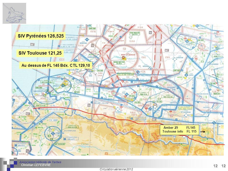 12 Séminaire « Définition de Produits » : méthodologie de définition dune pièce GREC INITIALES Circulation aérienne 2012 Association Vélivole de Tarbe