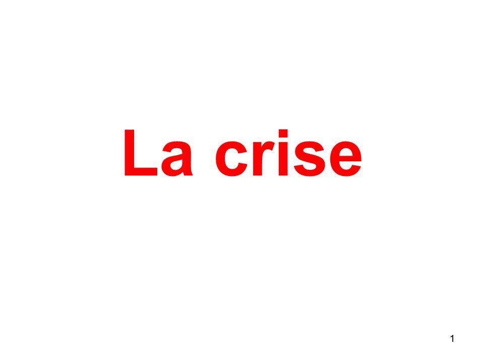 1 La crise 1
